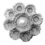Ragfijn zilver met een parel