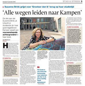 Interview met Inge Blankvoort van de Stentor