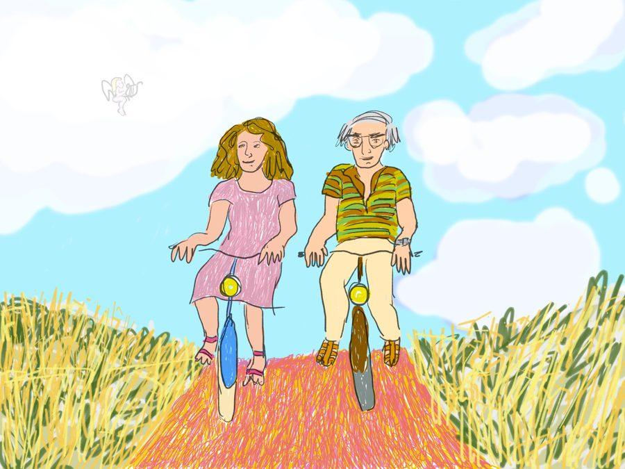 Postuum fietsen met mijn vader